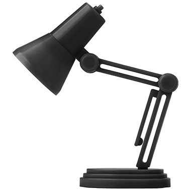 Plastic Small Desk Light With One Led